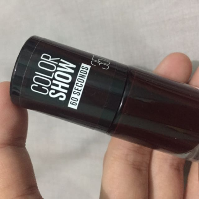 Maybelline Color Show Burgundy