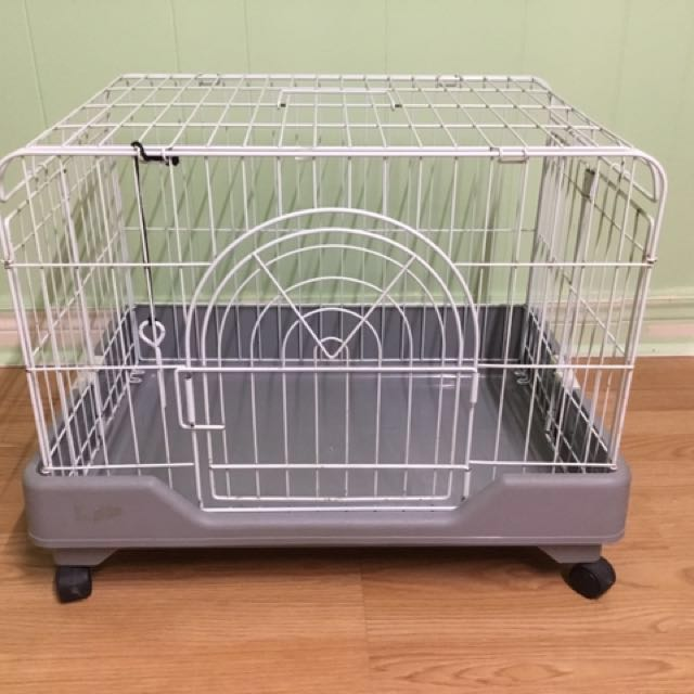 Metal Pet Cage With Wheels