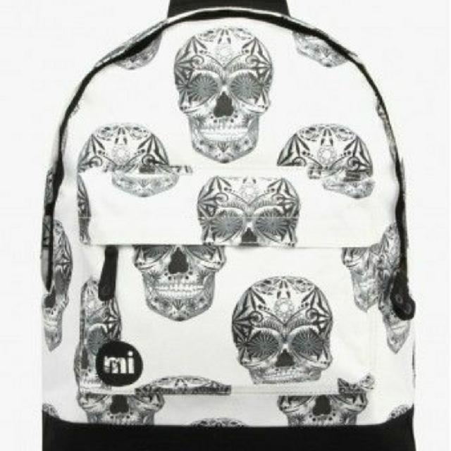 英國Mi Pac Skulls backpack