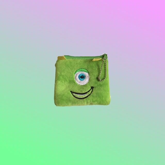 Mike Wazowski Mini Coin Purse