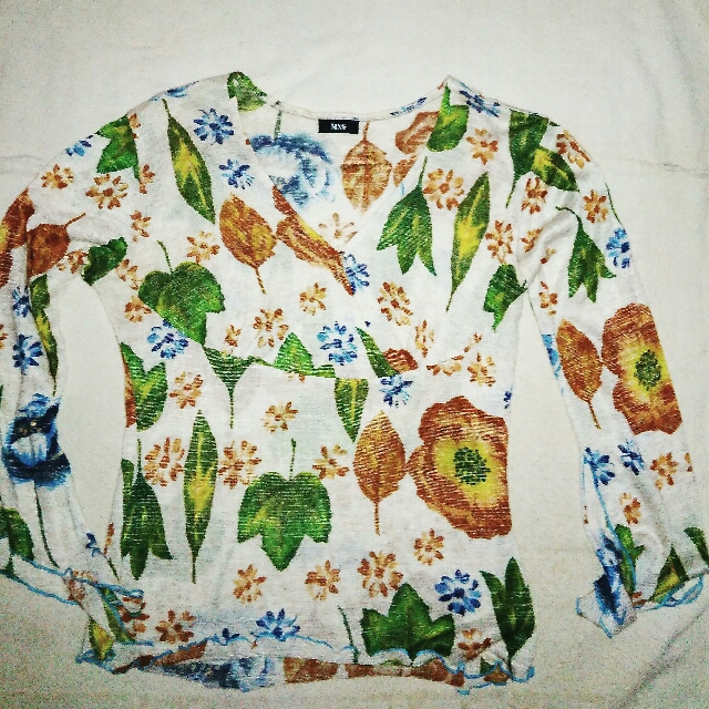 MNG (MANGO) Floral Blouse