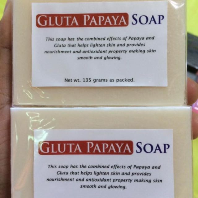 My Derm gluta papaya soap
