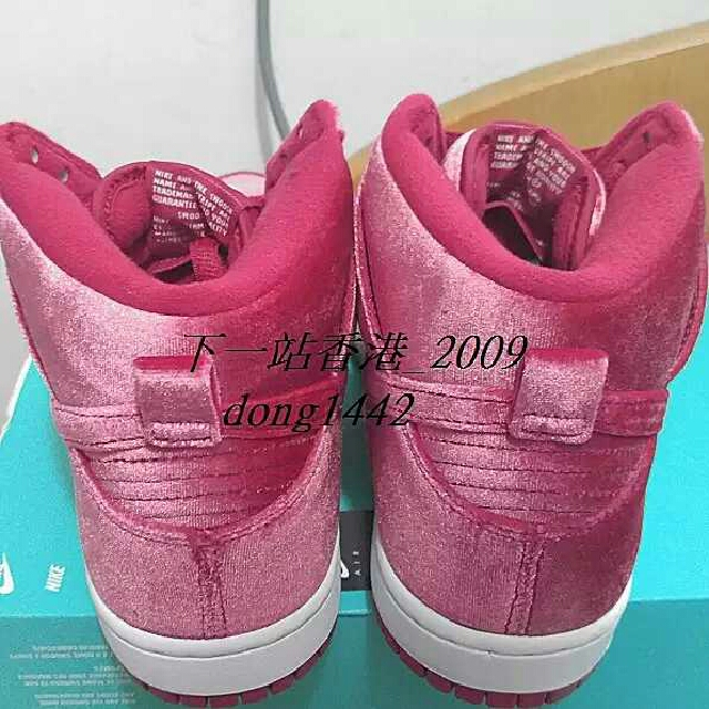 competitive price a2ae3 0061a Nike Dunk High Premium SB Red Velvet 313171 661