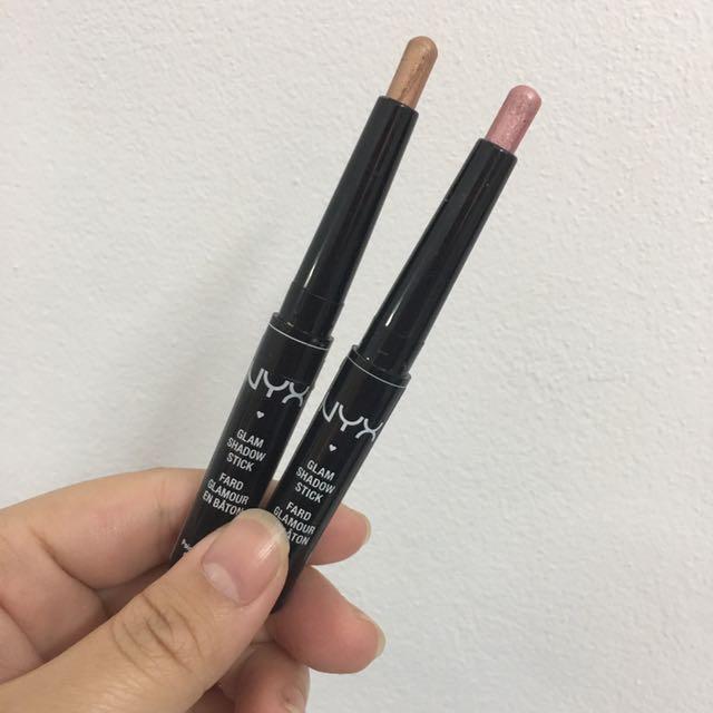 Nyx Glam Eyeshadow Sticks