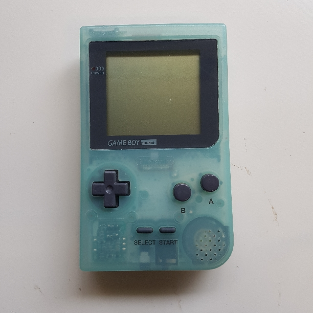 Ocean Blue Gameboy Pocket