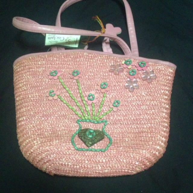 Pink Native Bag