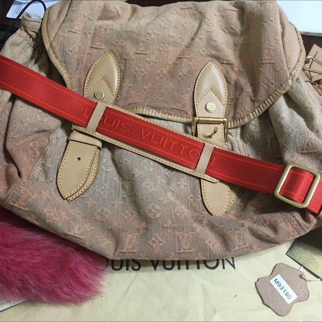 Pre-loved Louis Vuitton monogram sling bag