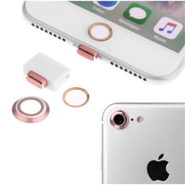 PROTECTORs SET (Camera, Home button, Charging)
