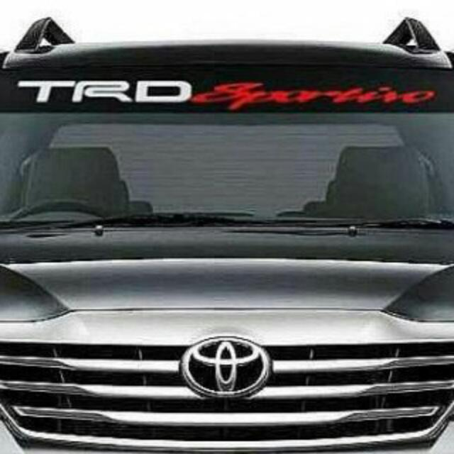 Sticker TRD Sportivo