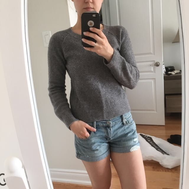 T By Alexander Wang Wool Sweater
