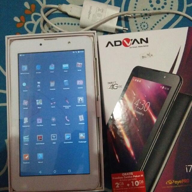 Tablet Advan I7 Telepon Seluler Di Carousell