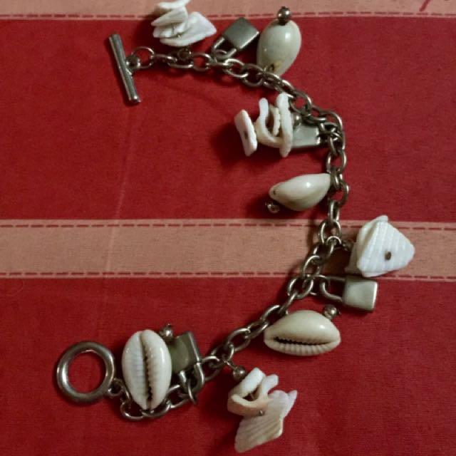 TAKE ALL charm bracelet