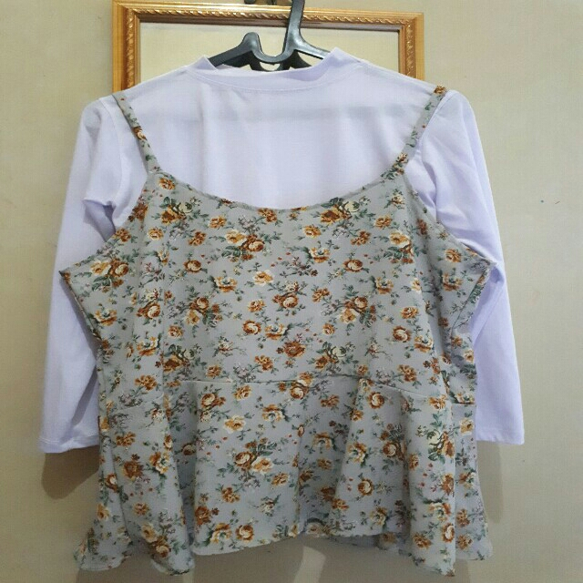Tank Tops Outher Vintage Floral/Flower