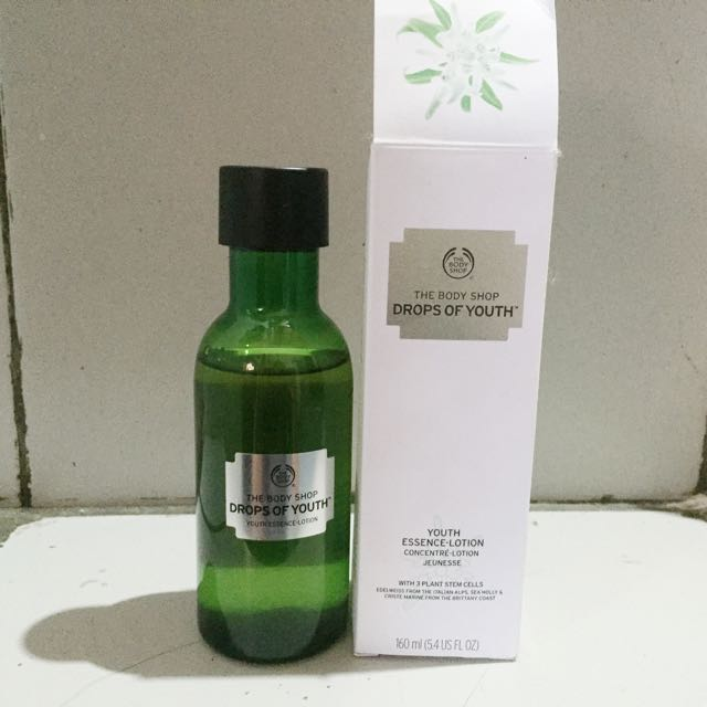 The Body Shop Drops Of Youth Essence Lotion #Prelovedkusayang