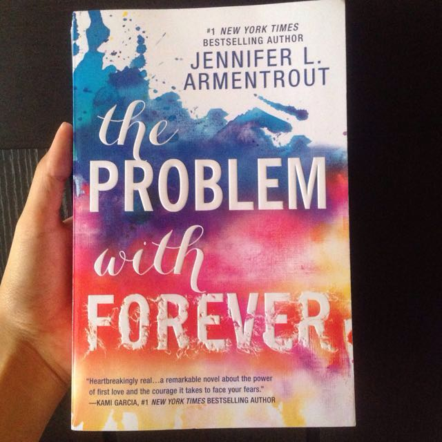 The Problem With Forever By Jennifer L. Armentrout (Paperback)