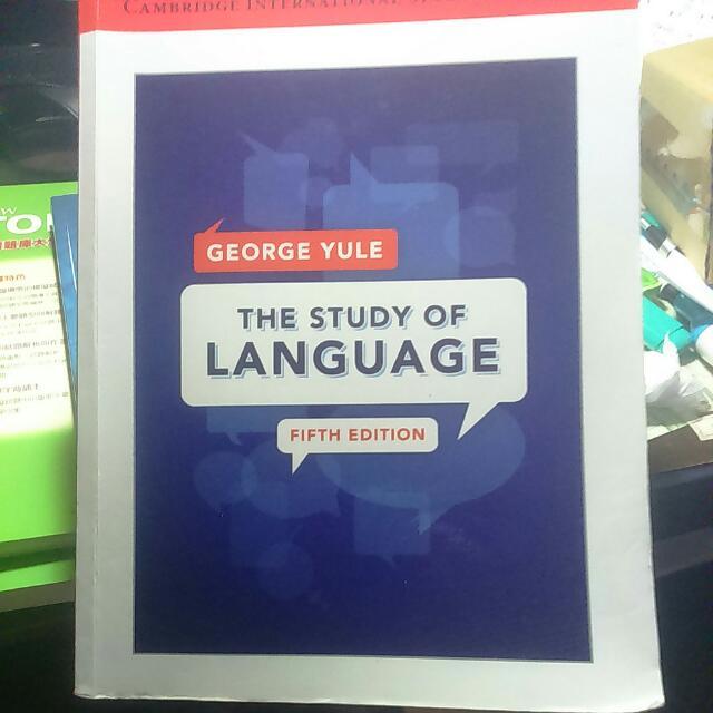 The study of language(fifth edition)#好書新感動