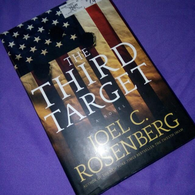 The Third  Target  By  Joel  Rosenberg