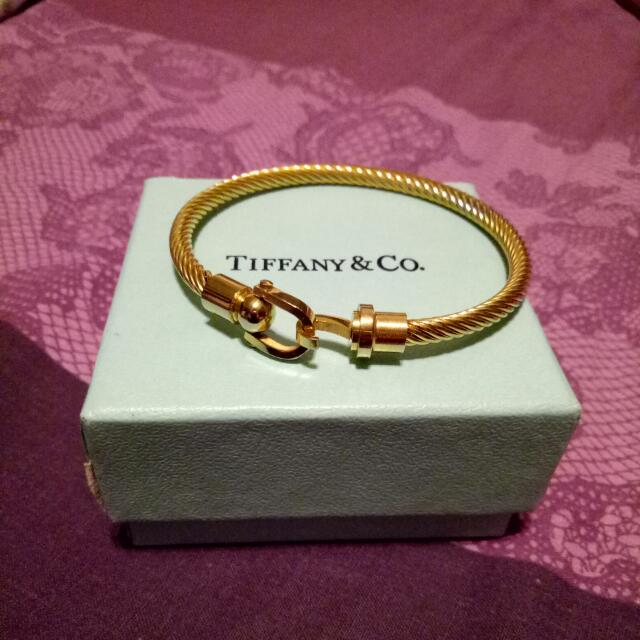 Tiffany & Co. Stainless Bangle