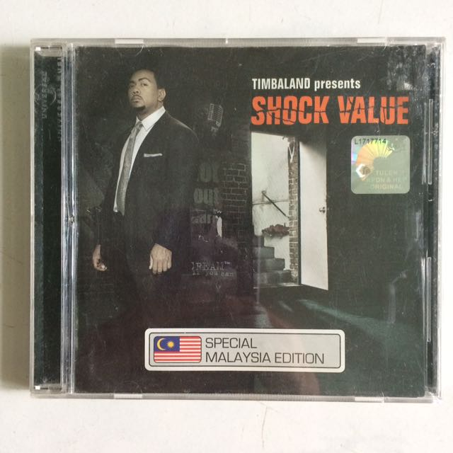 Timbaland presents shock value album