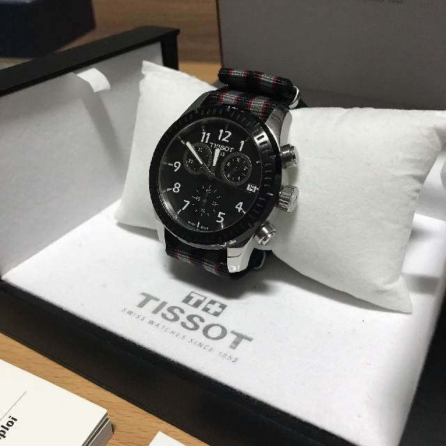 Tissot V8 T Sport Chronograph Watch Men S Fashion Watches On Carousell