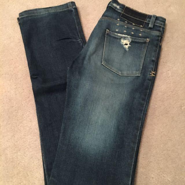 Tsubi Ksubi Slim Fit Jeans Size 26