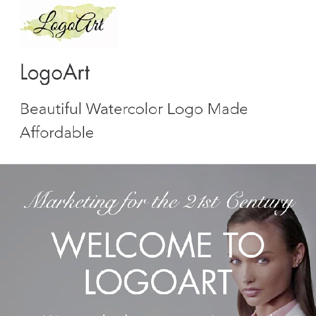 WATERCOLOUR LOGO DESIGN