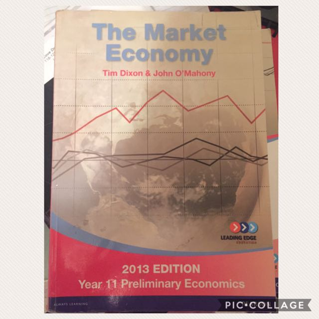 Year 11 Preliminary The Market Economy Textbook with Workbook