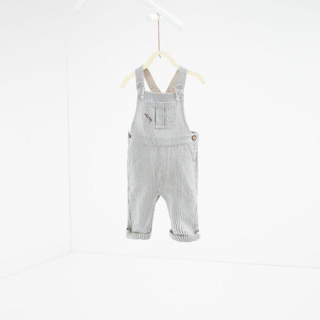 Zara Linen Dungaree (new with tag)