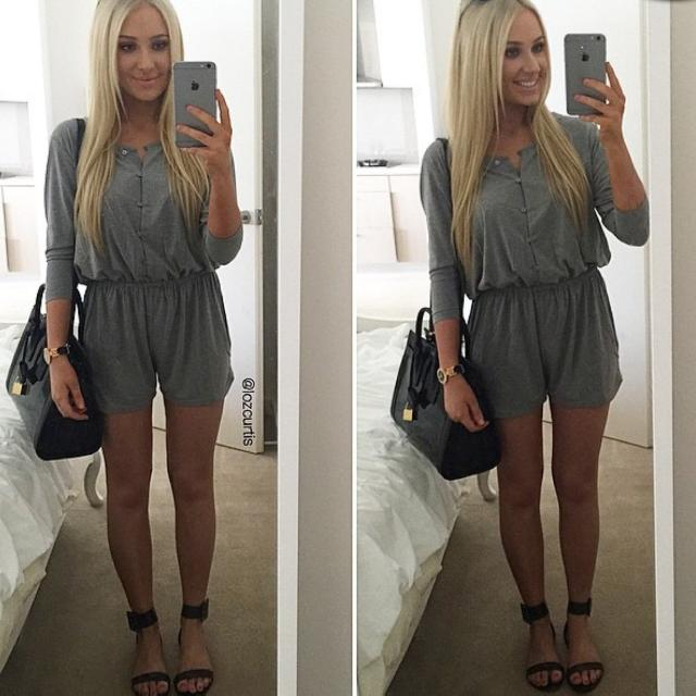 ZARA Playsuit/romper One Piece Thing | Size S