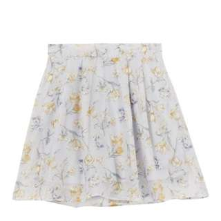 dazzlin 優雅氣質花卉短裙