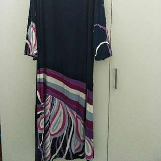 Jubah Batik Cotton