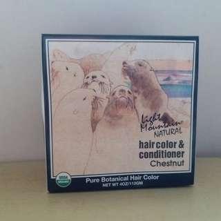 天然染髮劑及護髮素(栗子色)