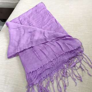 Sweet Purple Light Scarf