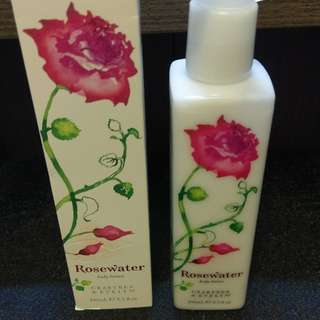 NEW! CRABTREE & EVERLYN Rosewater Body Lotion 245ml