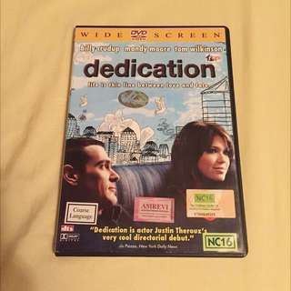 English Movie DVD: Dedication (2009).