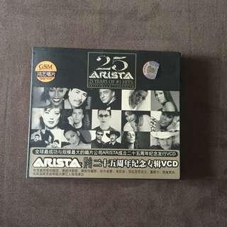 25 Years Of #1 Hits CD Album (Arista Records).