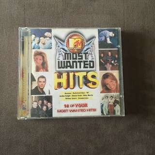 MTV Most Wanted Hits Album.