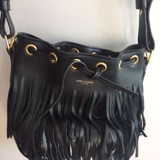 Saint Laurent Bucket fringe bag