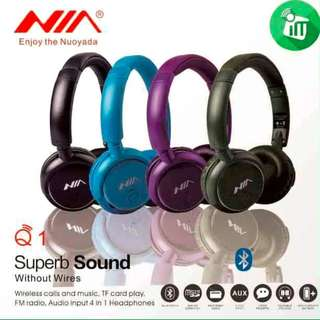NIA Q1 Bluetooth V4.0 4-in-1 Sport Earphones