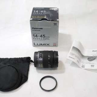 Panasonic LUMIX 14-45mm F3.5-5.6 MEGA O.I.S. / 盒裝 / M4/3接口