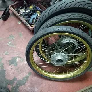 Alloy rim for wave 125