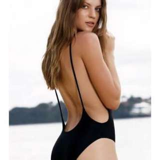 black one piece