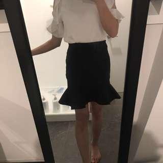 Fish tail style dress Kookai