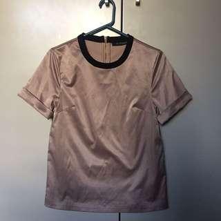 [ALPHA60] Boxy t-shirt (Sz XS / 6)