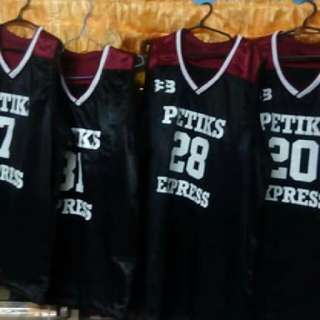 Customized Basketball and Volleyball uniform