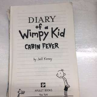 Diary of a wimpy kid front page missing other wise good