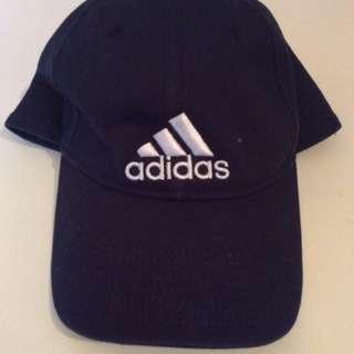 Dark blue Adidas cap