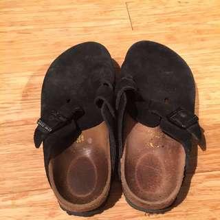 Black Suede Birkenstocks