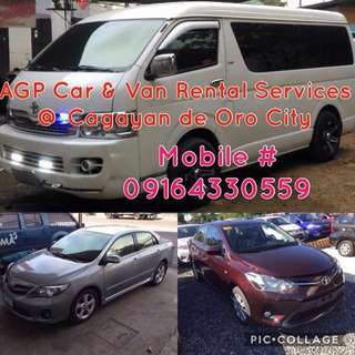 Cdo Car/Van Rental Services