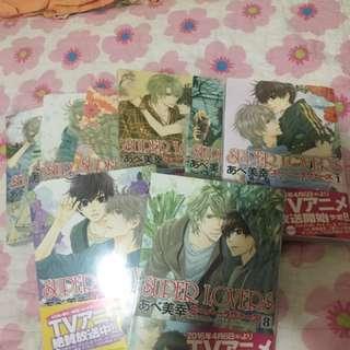 Super lover mangas